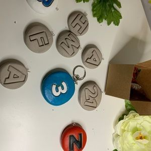 Other - HANDMADE CLAY KEYCHAINS